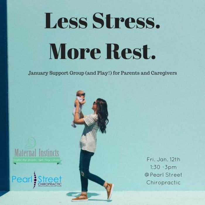 Less Stress.More Rest.1 - January 12 , 2018: New Parent Stress Support Group (Less Stress. More Rest!)