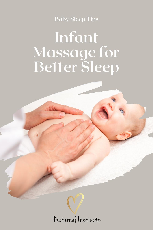 infant massage for better sleep