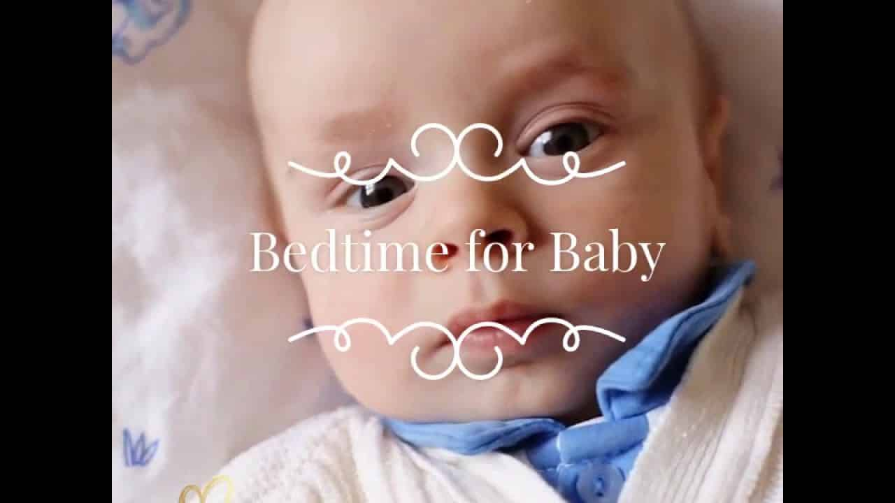 Bedtime for Baby - Red lights and a nice dark nursery/sleep space!