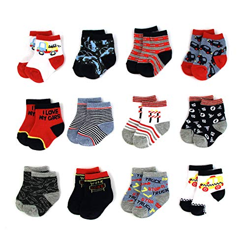 Baby Socks for Boys and Girls 0 24 Months with Cute Designs and Patterns 0 - Baby Socks for Boys and Girls 0-24 Months with Cute Designs and Patterns