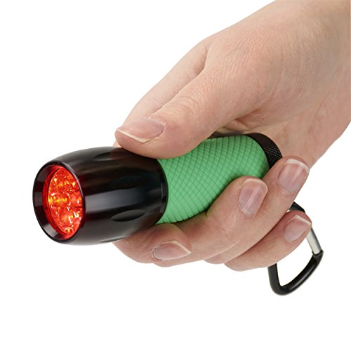 Carson RedSight Red Led Flashlight for Reading Astronomy Star Maps and Preserving Night Vision with Two Brightness Settings SL 33 Green 0 0 - Carson RedSight Red Led Flashlight for Reading Astronomy Star Maps and Preserving Night Vision with Two Brightness…