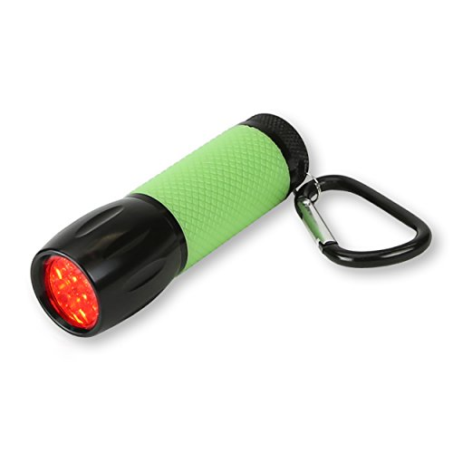 Carson RedSight Red Led Flashlight for Reading Astronomy Star Maps and Preserving Night Vision with Two Brightness Settings SL 33 Green 0 - Carson RedSight Red Led Flashlight for Reading Astronomy Star Maps and Preserving Night Vision with Two Brightness…