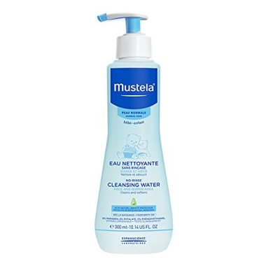 Mustela No Rinse Baby Cleanser Micellar Water with Avocado Aloe Vera For Babys Face Body Diaper Various Sizes 0 380x380 - Mustela No Rinse Baby Cleanser - Micellar Water - with Avocado & Aloe Vera - For Baby's Face, Body & Diaper - Various…