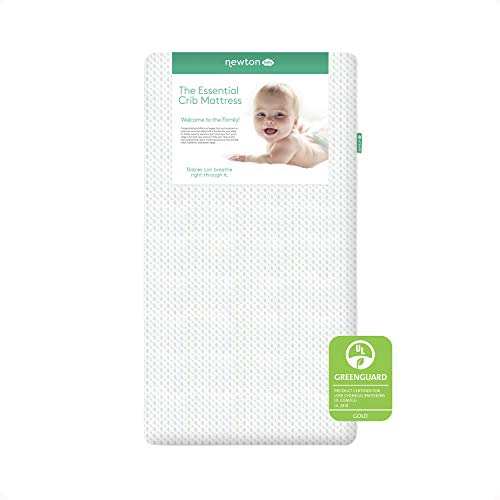 Newton Baby Essential Crib Mattress and Toddler Bed 100 Breathable Proven to Reduce Suffocation Risk 100 Washable 2 Stage Non Toxic Better Than Organic Removable Cover Included White 0 - Newton Baby Essential Crib Mattress and Toddler Bed - 100% Breathable Proven to Reduce Suffocation Risk, 100% Washable…