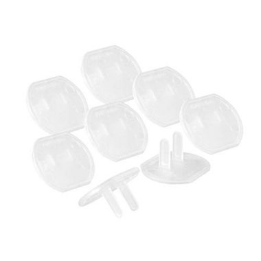 GE Clear For Unused Electrical Outlets 0 380x380 - GE, Clear, Safety Covers, 8 Pack, For Unused Electrical Outlets, Easy to Install, Guards Against Shocks, Plastic, 50271…
